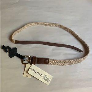 """39"""" Long Forever 21 two-toned Women's new belt"""